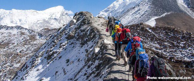 متى تذهب لتسلق الجبال في نيبال