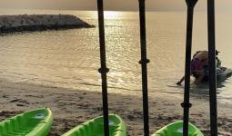 التجديف في خليج البحرين