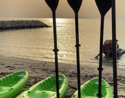 Kayaking in Bahrain Bay