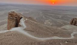 رحلة اليوم الوطني السعودي للمشي لمسافات طويلة