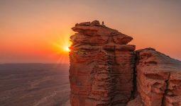 منظر غروب الشمس عند حافة العالم - رحلة ليوم واحد