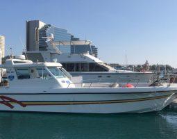 8 persons boat to Jarada Island