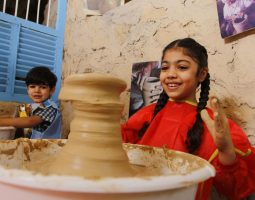 Learn the art of Pottery shaping
