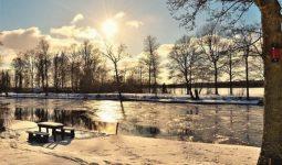 استمتع جمال باكو في الشتاء